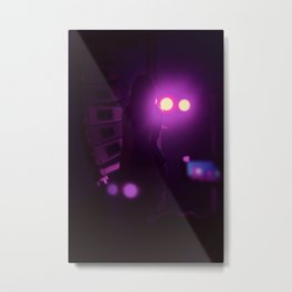 Serenity In The Spotlight Metal Print