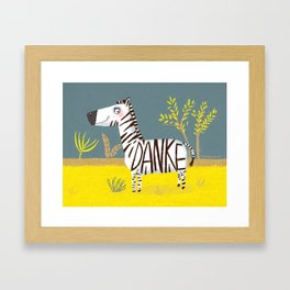 Thank you for everything Framed Art Print