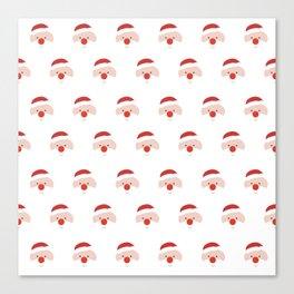 Find the hidden Santa Canvas Print