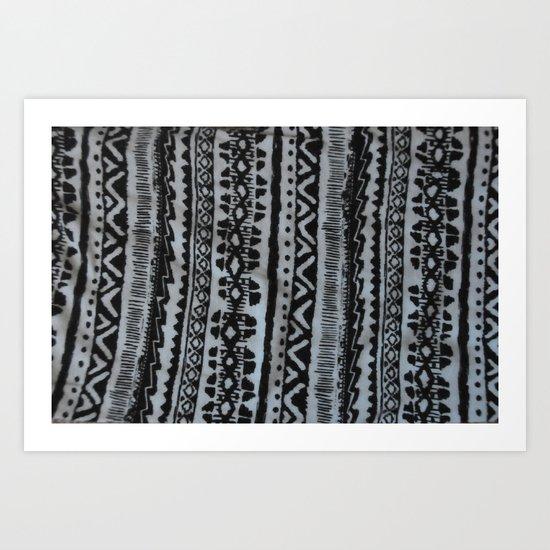 Tribal #1 Art Print