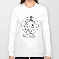 pirate Long Sleeve T-shirts featuring Pirate by Thrashin