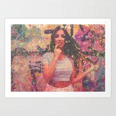 GraffGirl Art Print