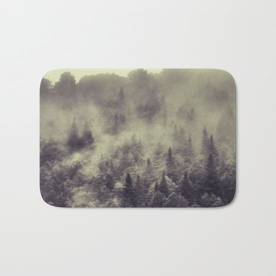 """Into the woods"" Love the forests Bath Mat"