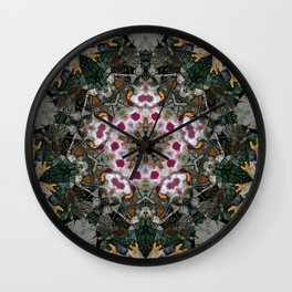 Multifacetted Kaleidoscope 3 Wall Clock
