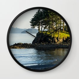 Edge of the Water Wall Clock