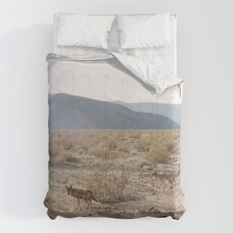 Panamint Valley Coyotes Comforters