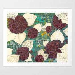 Bonical Garden Art Print