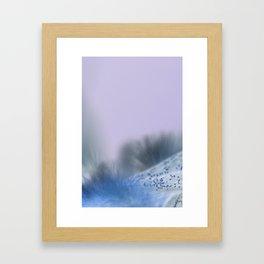 Bee LandScape Framed Art Print