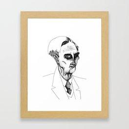 eo wilson Framed Art Print