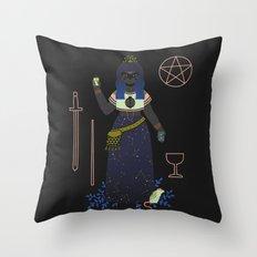 Witch Series: Tarot Cards Throw Pillow