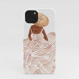Madame Fleur iPhone Case