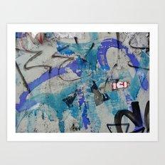 Urban Abstract 117 Art Print
