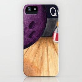 Bowling Pun iPhone Case