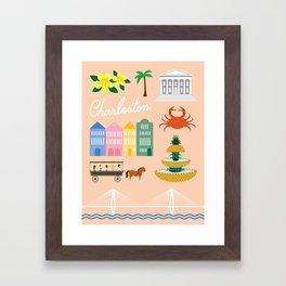 Charleston Art Print Framed Art Print