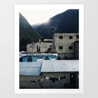 peru Art Prints featuring peru by joram nathanael