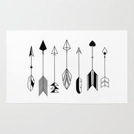 Be Brave Little Arrow Rug