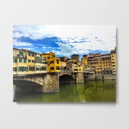 Ponte Vecchio in Firenze / Florence Metal Print