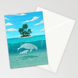 Manatee Island Stationery Cards