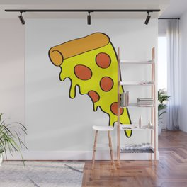 i want pizza Wall Mural