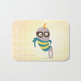 Can I name your legs? Bath Mat