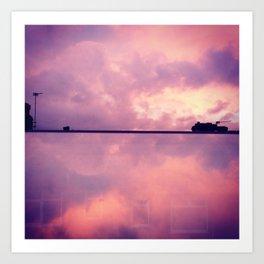 Summer Sunset Photograph Art Print