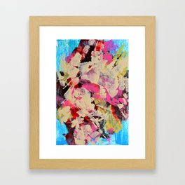 Implosion of Tulips Framed Art Print