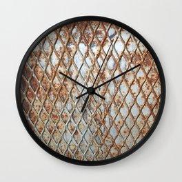 Rusty Grate Wall Clock