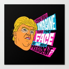 Trump Face Canvas Print