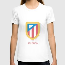Atletico Madrid Smooth Logo T-shirt