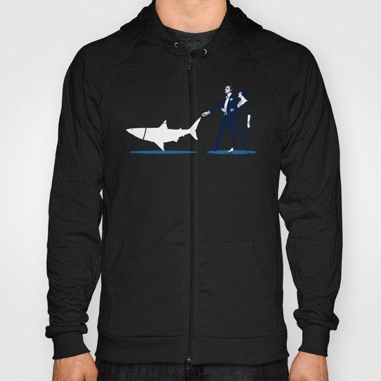 Walking the Shark Hoody