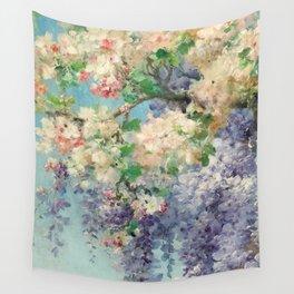 "Eugène Bidau ""The spring (Le printemps)"" (1) Wall Tapestry"
