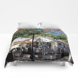 Corner Café Comforters