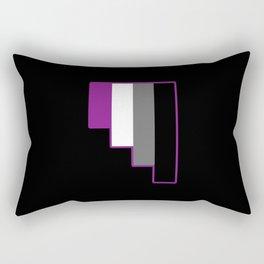 Asexual Rectangular Pillow