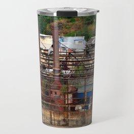 Blue Heron Papermill, Oregon City, Oregon Travel Mug