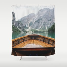 Live the Adventure Shower Curtain