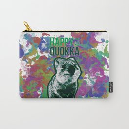 Happy as a Quokka Carry-All Pouch