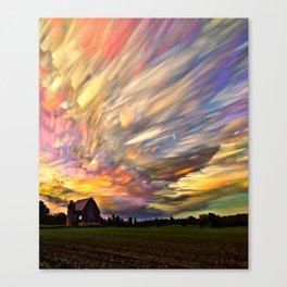 AMAZING CLOUD FORMATION Canvas Print