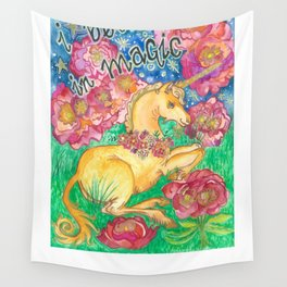 Believe in Magic Wall Tapestry