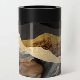 Copper and Gold Mountains Can Cooler