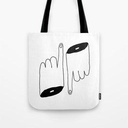 Up & Down Tote Bag