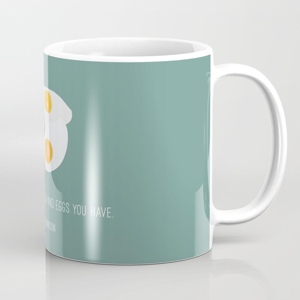 Ron Swanson Loves Bacon Mug by Shes_that_wallflower MUG4001877
