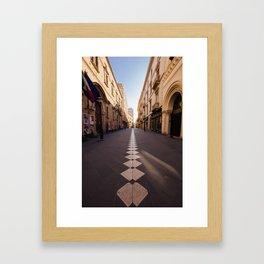 The Long Way Home Framed Art Print