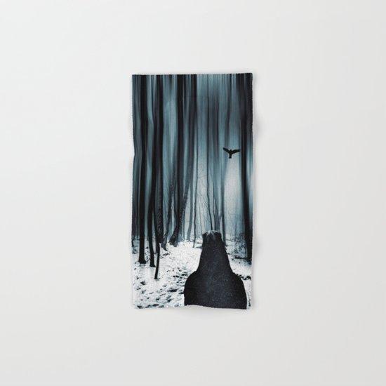 dark promise - raven Hand & Bath Towel