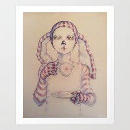 Tea? Art Print