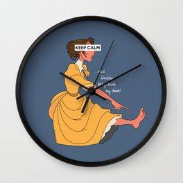 Keep Calm: Jane Wall Clock