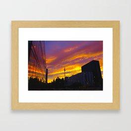 After Burner Framed Art Print