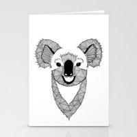 koala Stationery Cards featuring Koala by Art & Be