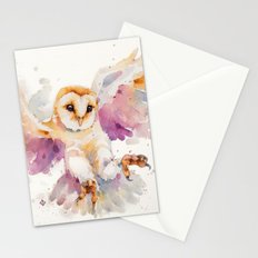 Twilight Owl Stationery Cards
