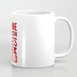 Blaine Anderson Rules The World Coffee Mug