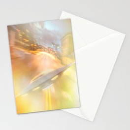 Downtown UFO Stationery Cards